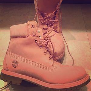 Cute Pink Timberlands